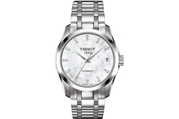 Womens Tissot Couturier Watch T035.207.11.116.00