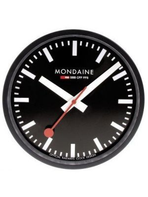 Minimal Swiss Railway Style Office and Home Wall Clock | A990.CLOCK.64SBB