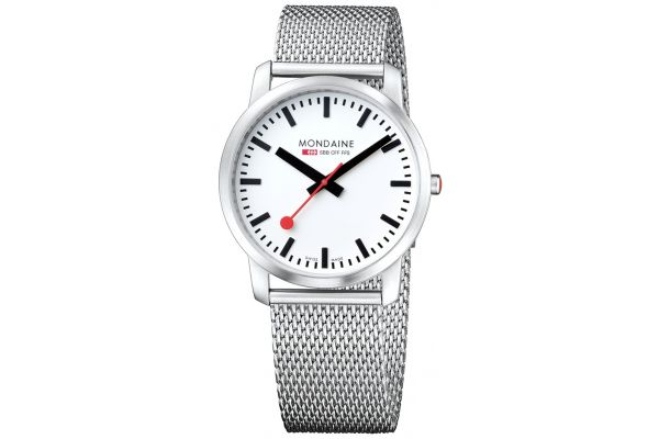 Mens Mondaine Simply Elegant Watch A638.30350.16SBM