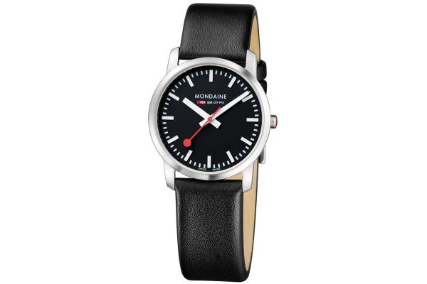 Womens Mondaine Simply Elegant Watch A672.30351.14SBB