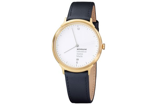Mens Mondaine Helvetica No.1 Watch MH1.L2211.LB