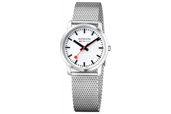 Womens Mondaine Simply Elegant Watch A400.30351.16SBM