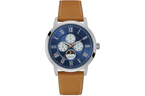 Mens Guess Delancy Watch W0870G4