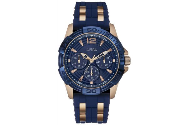 Mens Guess Oasis Watch W0366G4