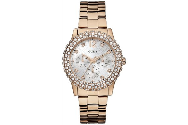 Womens Guess Dazzler Watch w0335l3