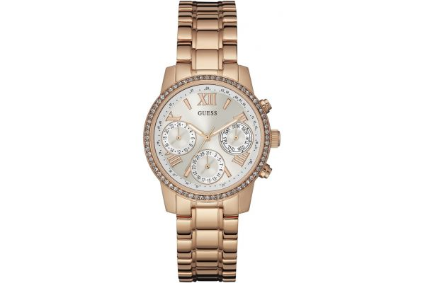 Womens Guess Sunrise Watch W0623L2