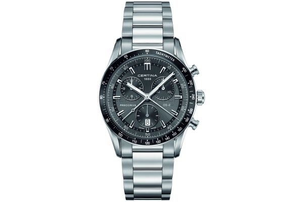 Mens Certina DS-2 Chronograph Watch C0244471108100
