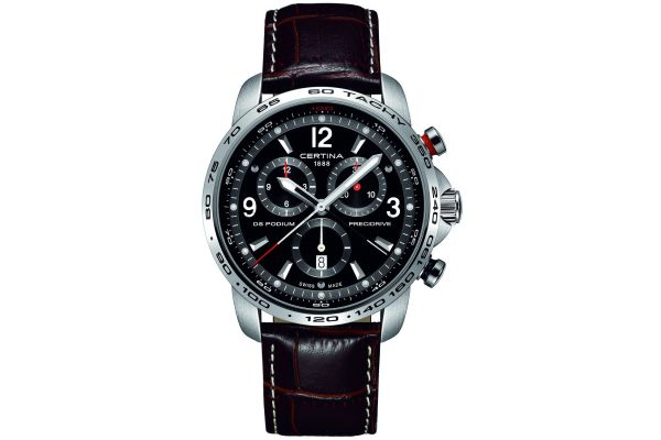 Mens Certina DS Podium Big Chronograph Watch C0016471605700