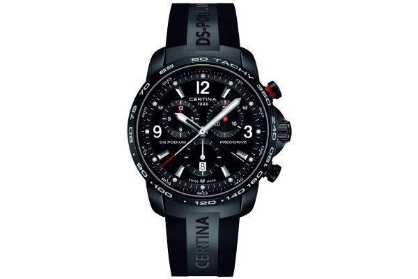 Mens Certina DS Podium Big Chronograph Watch C0016471705700