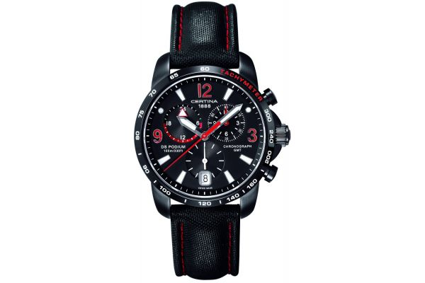 Mens Certina DS Podium GMT Watch C0016391605702