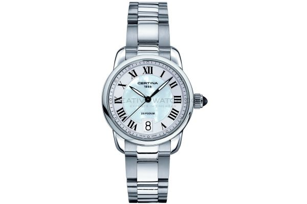 Womens Certina DS Podium Chronograph Watch C0252101111800