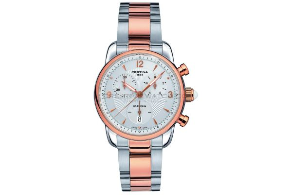 Womens Certina DS Podium Chronograph Watch C0252172201700