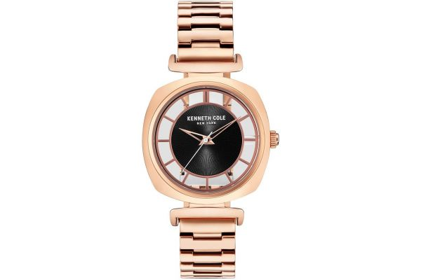 Womens Kenneth Cole Transparent Watch KC15108001