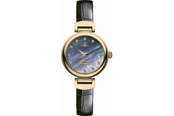 Womens Vivienne Westwood Hampton Watch VV128GDBK