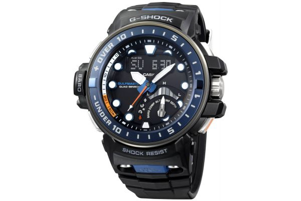 Mens Casio Premium G Shock Watch GWN-Q1000-1AER