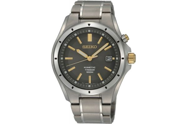 Mens Seiko Kinetic Watch SKA765P1