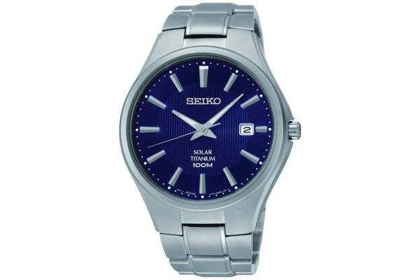 Mens Seiko Solar Watch SNE381P9