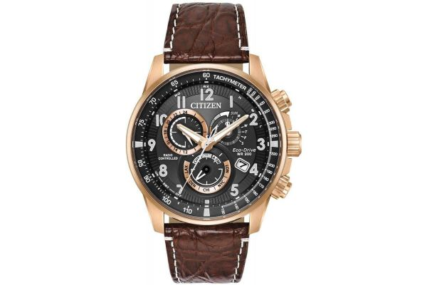 Mens Citizen Perpetual A-T Watch AT4133-09E