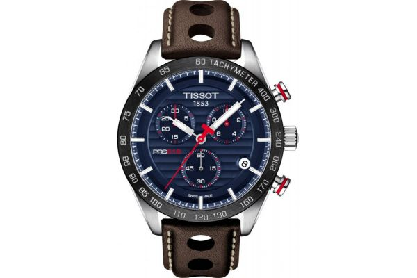 Mens Tissot PRS516 Chronograph Watch T100.417.16.041.00