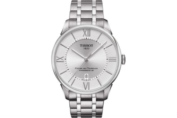 Mens Tissot Chemin Des Tourelles Watch T099.407.11.038.00