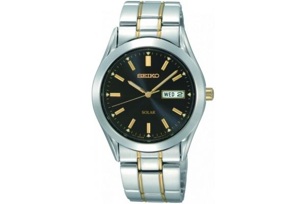 Mens Seiko Solar Watch SNE047P9