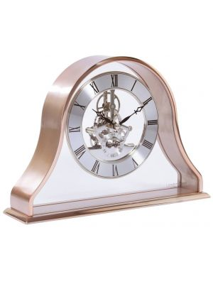 Napoleon style metal cased mantel in rose gold | 03181