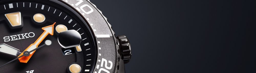 Seiko 'The Black Series 2018' Prospex divers watches.