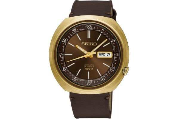 Mens Seiko Retro Watch SRPC16K1