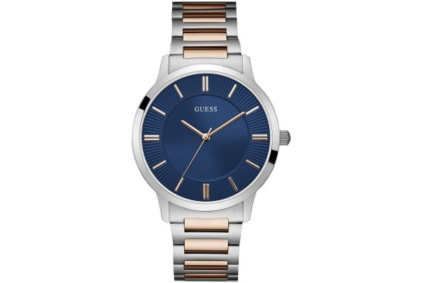 Mens Guess Escrow Watch W0990G4