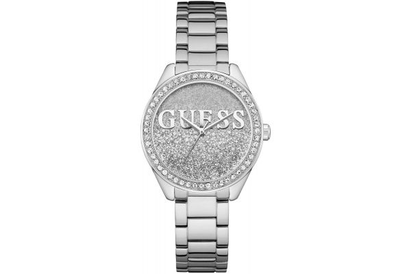 Womens Guess Glitter Girl Watch W0987L1
