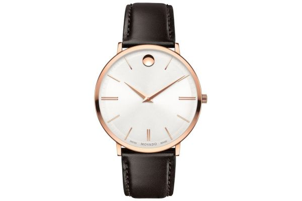 Mens Movado Ultra Slim Watch 0607089