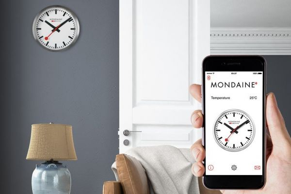 Clocking in on the new Mondaine Smart-Clock