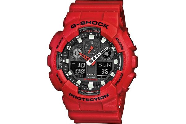 Mens Casio G Shock Watch GA-100B-4AER