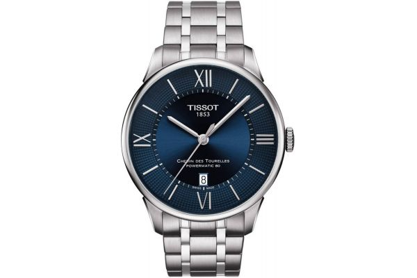 Mens Tissot Powermatic 80 Watch T099.407.11.048.00