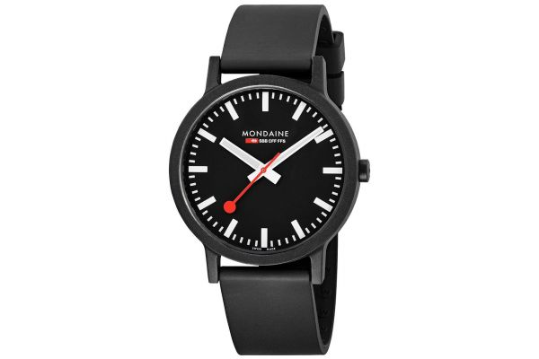 Mens Mondaine Essence Watch MS1.41120.RB