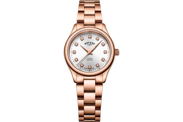 Womens Rotary Oxford Watch LB05096/02/D