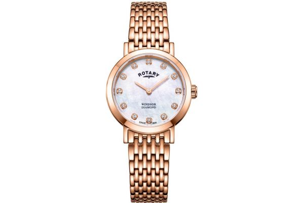 Womens Rotary Windsor Watch LB05304/41/D