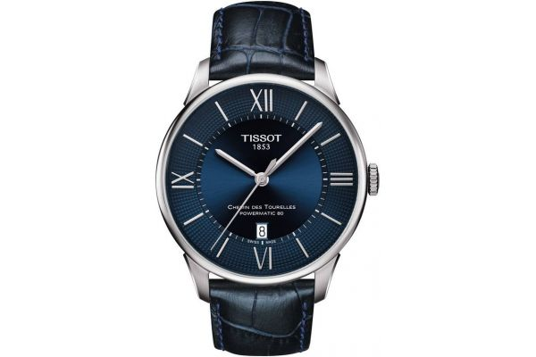 Mens Tissot Chemin Des Tourelles Watch T099.407.16.048.00