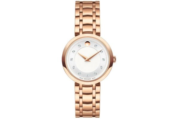 Womens Movado 1881 Quartz Watch 0607100