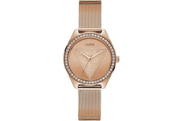 Womens Guess Tri-Glitz Watch W1142L4