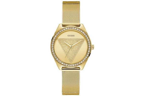 Womens Guess Tri-Glitz Watch W1142L2