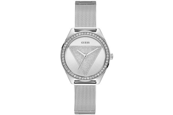 Womens Guess Tri-Glitz Watch W1142L1