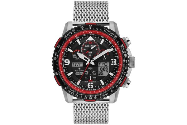 Mens Citizen Red Arrows Watch JY8079-76E