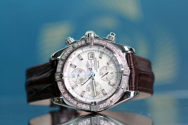 Mens Pre-owned Breitling Watch A13356