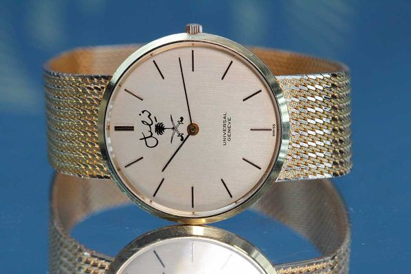 Mens Pre-owned Universal Geneve Watch 242002-1426