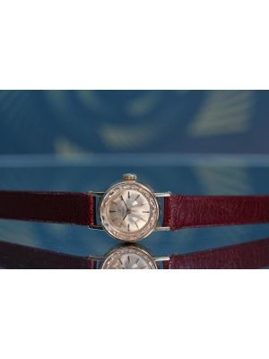 Womens 18K Cocktail Watch
