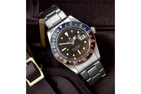 Mens Pre-owned Rolex Watch GMT Master 6542