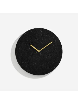 Black Marble wall clock  | 1216