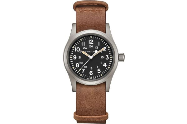 Mens Hamilton Khaki Field Watch H69439531