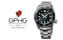 Seiko wins the Diver's Watch Prize - 2019 GPHG